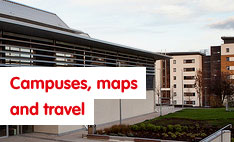 campuses maps and trave